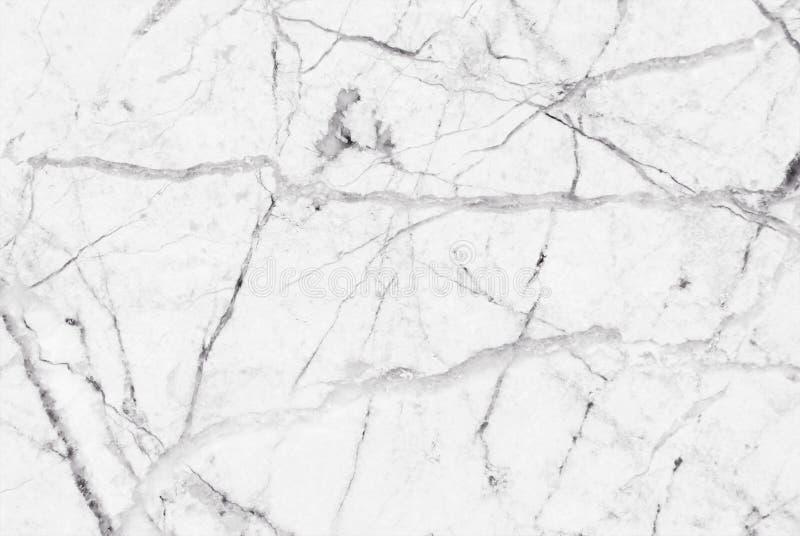 Texture de marbre grise blanche avec les veines grises subtiles images libres de droits