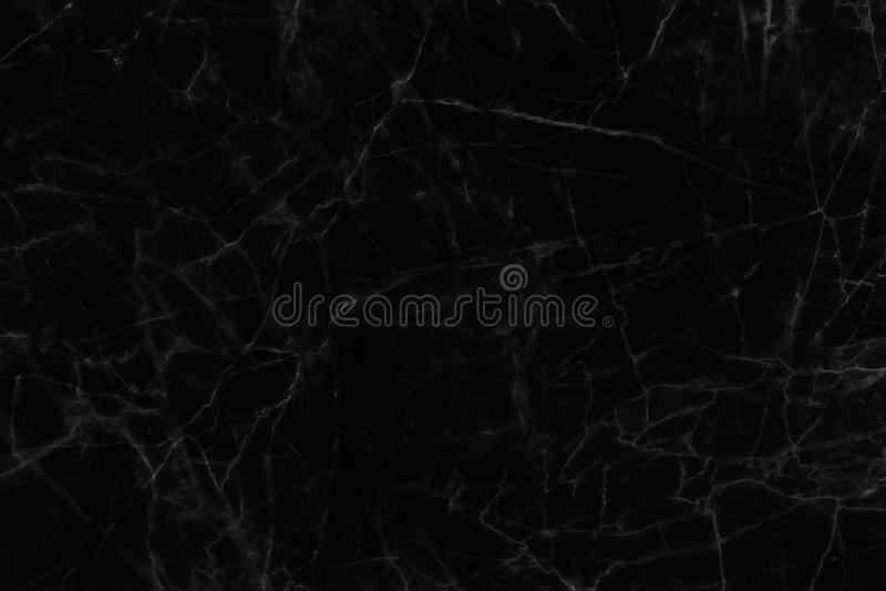 Texture de marbre noire, structure détaillée de marbre dans naturel modelé pour le fond et conception photos libres de droits