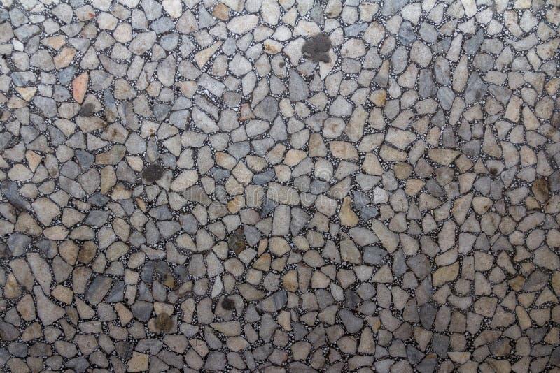 Texture de marbre poncée de tuile Fond doux de granit Modèle en pierre de marbre de résumé Texture extérieure antique images stock