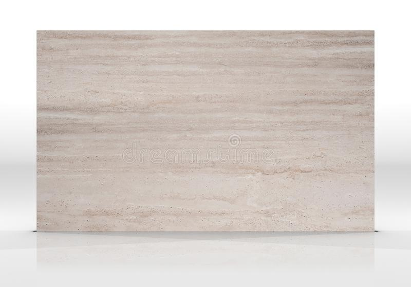 Texture de marbre de tuile de travertin images libres de droits