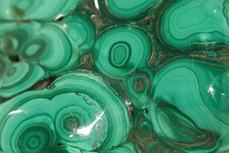 Texture de minerai de malachite photographie stock