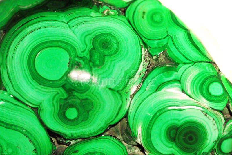 Texture de minerai de malachite images libres de droits