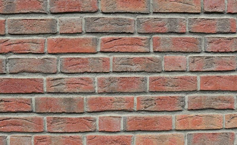 texture de mur de briques Ton brun clair doux Style, conception image stock