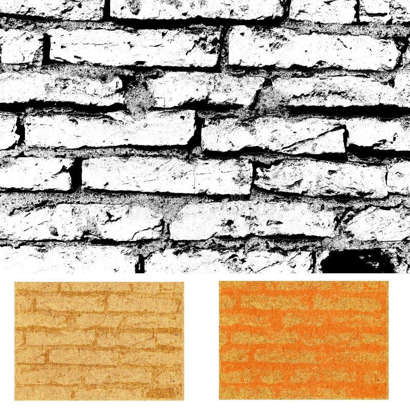 Texture de mur de briques illustration de vecteur