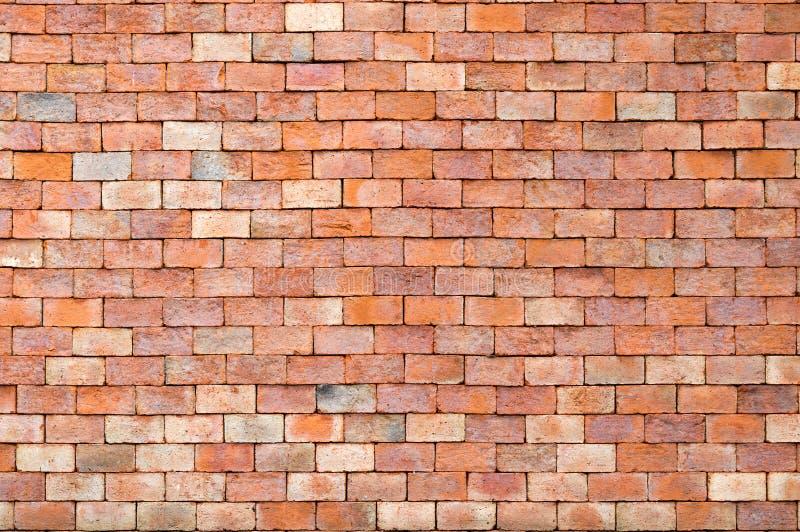 Texture de mur de briques et fond de brique rouge avec l'espace de copie images libres de droits
