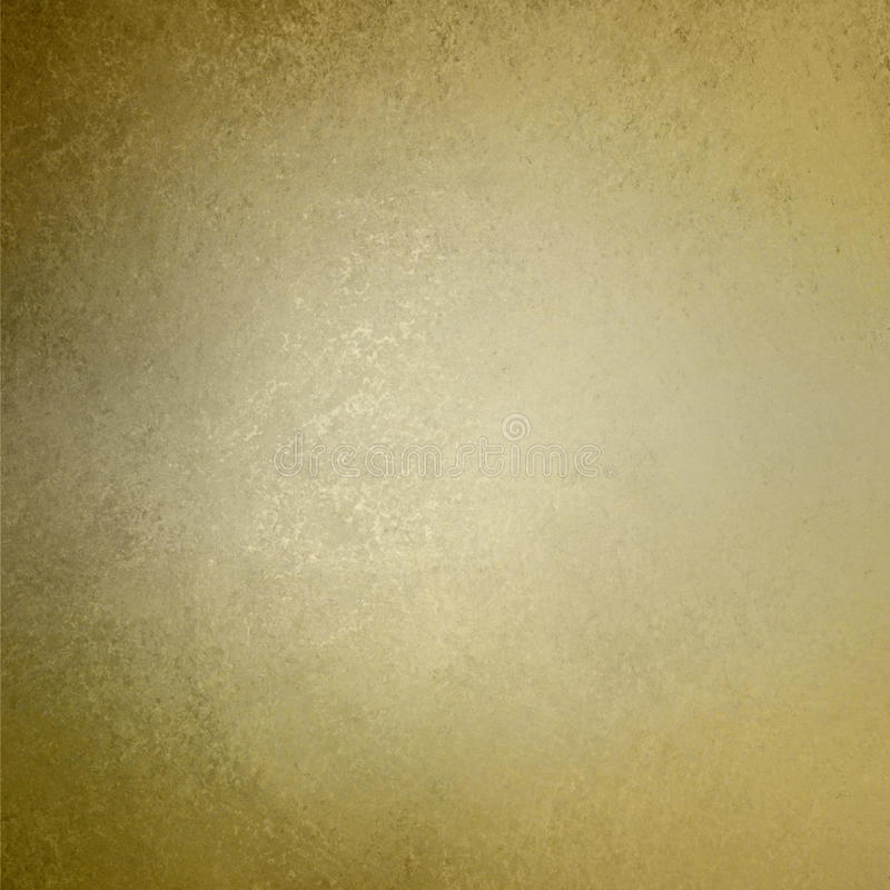 Texture de mur de vintage de fond d'or de Brown illustration de vecteur