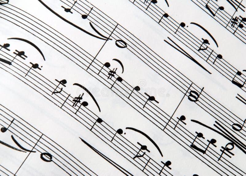Texture de musique photo libre de droits