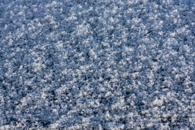 Texture de neige images stock
