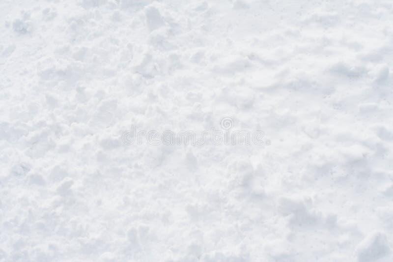 Texture de neige photos libres de droits