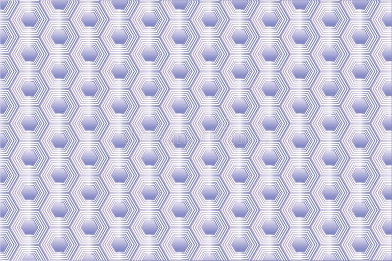 Texture de nid d'abeilles d'améthyste illustration de vecteur