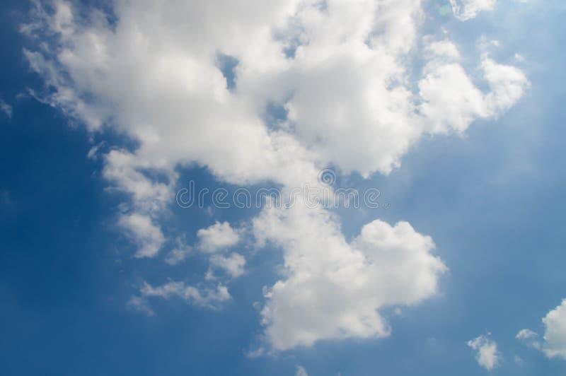 Texture de nuage sur le ciel image libre de droits