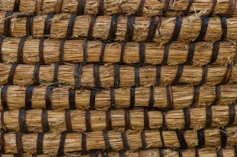 Texture de panier d'osier ou de rotin Panier pour la paille Texture sans couture à haute résolution photo stock