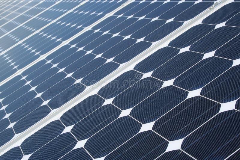 Texture de panneaux solaires photos libres de droits
