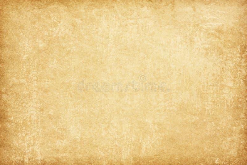 Texture de papier âgée Fond beige photographie stock