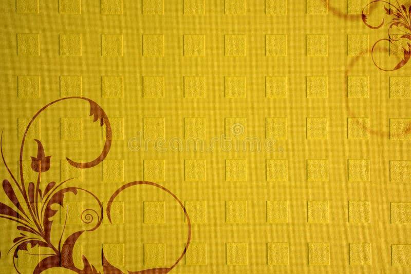 Texture de papier avec des ornements illustration de vecteur