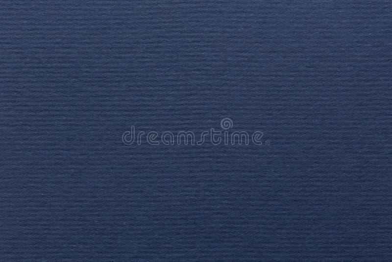 Texture de papier bleu-foncé image stock