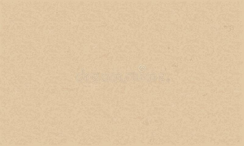 Texture de papier de Brown pour le fond Vecteur illustration libre de droits