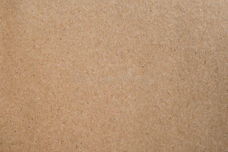 Texture de papier de carton de Brown photos stock