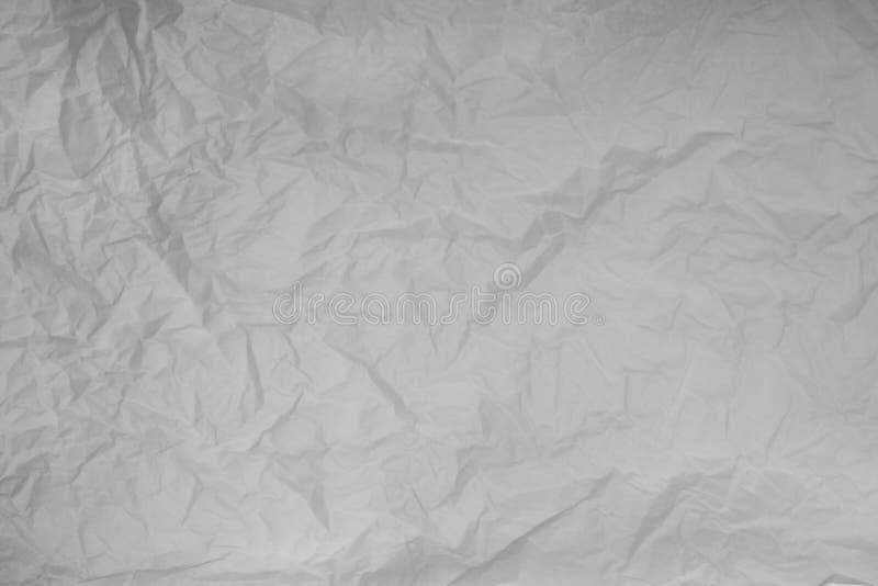 Texture de papier chiffonn?e images libres de droits