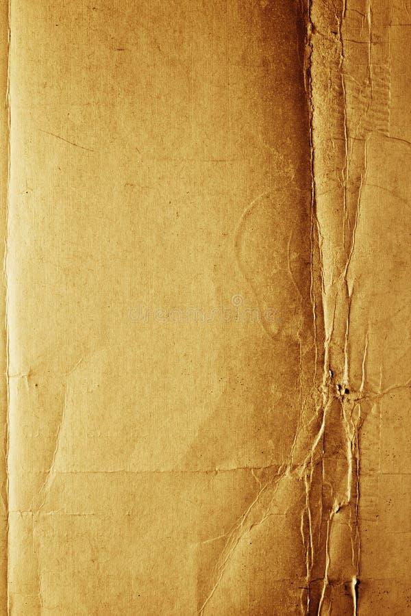Texture de papier criquée image stock