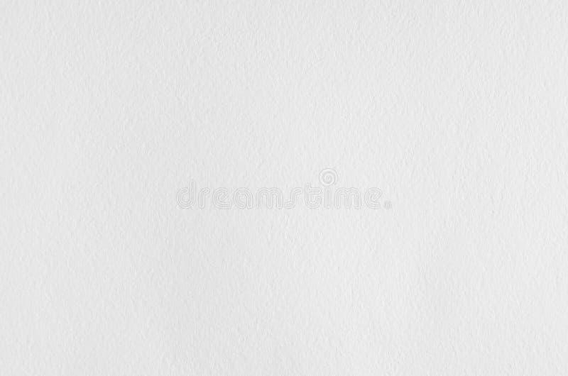 Texture de papier d'aquarelle froissée par blanc image stock