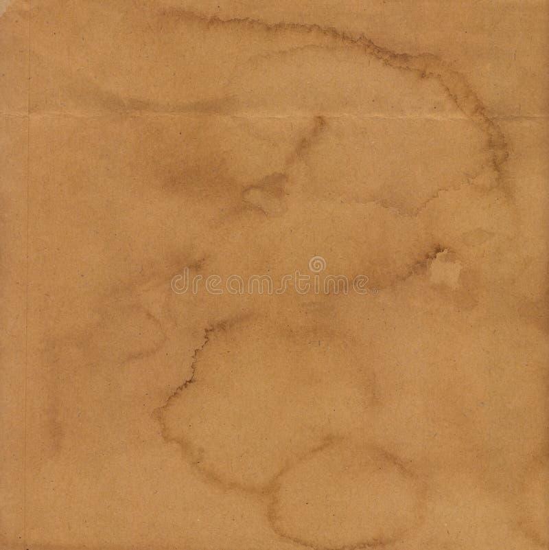 Texture de papier de Brown photographie stock libre de droits