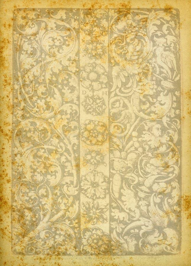 Texture de papier de cru photographie stock