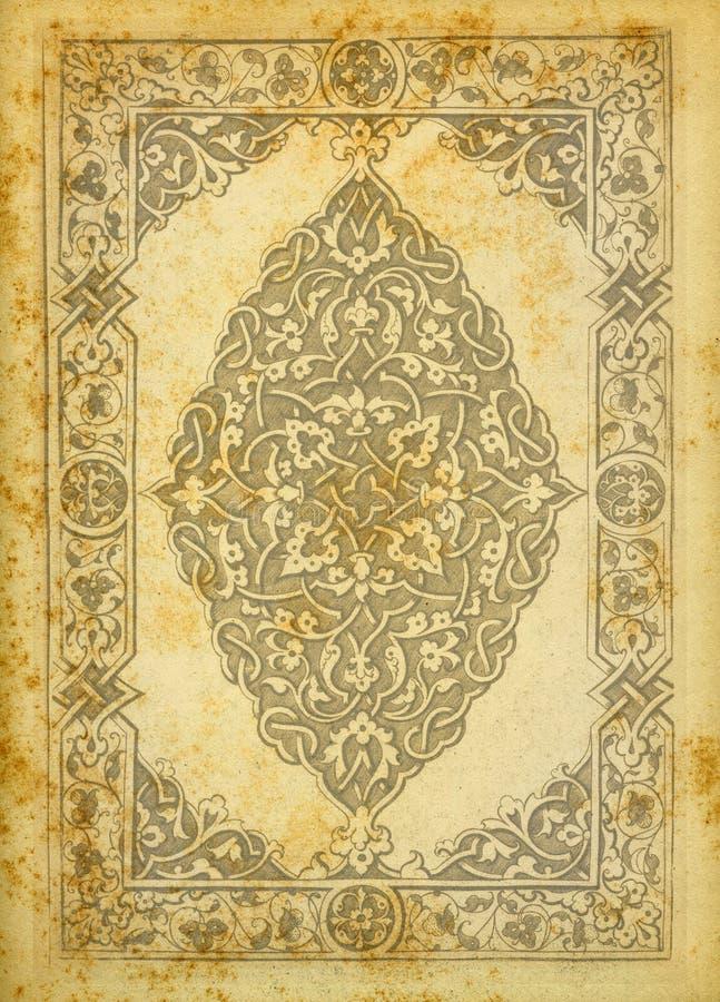 Texture de papier de cru image libre de droits