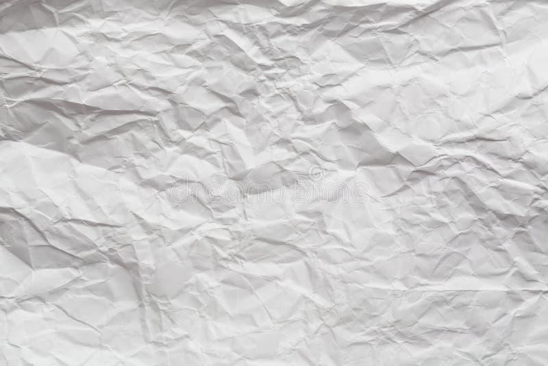 Texture de papier froissée photographie stock libre de droits