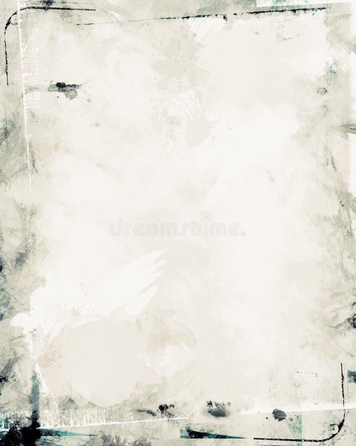 Texture de papier modifiée illustration stock