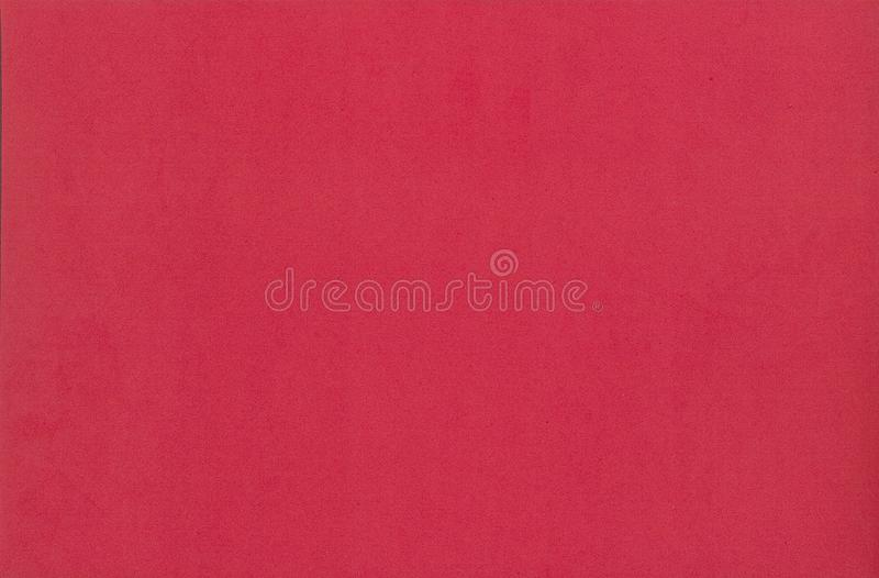 Texture de papier de mousse de couleur rouge pour le fond ou la conception photographie stock