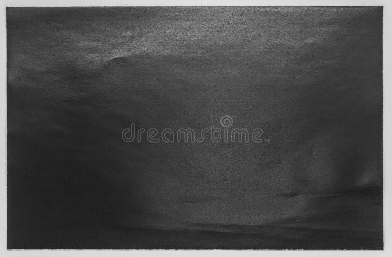 Texture de papier noir simple sur le fond blanc photo libre de droits