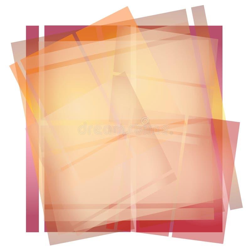 Texture de papier opaque d'Origami illustration libre de droits