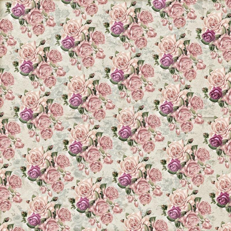 texture de papier peint de fleur de vintage image stock. Black Bedroom Furniture Sets. Home Design Ideas