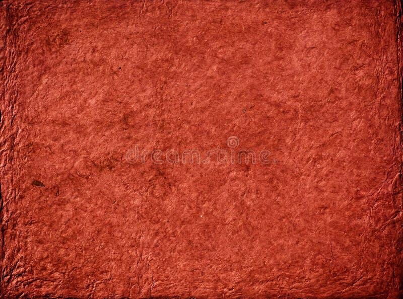 Texture de papier rouge photographie stock
