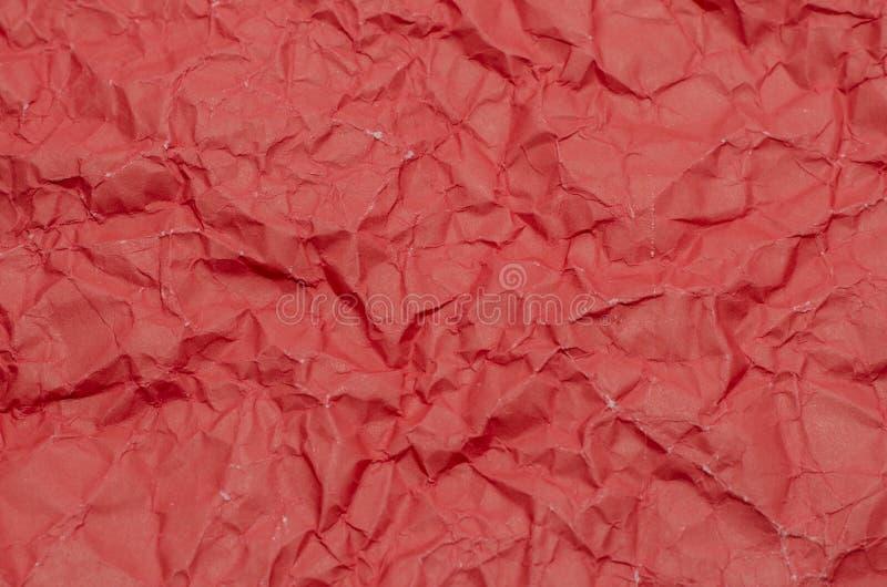 Texture De Papier Rouge Froissé Image stock - Image du note, trame: 45834851