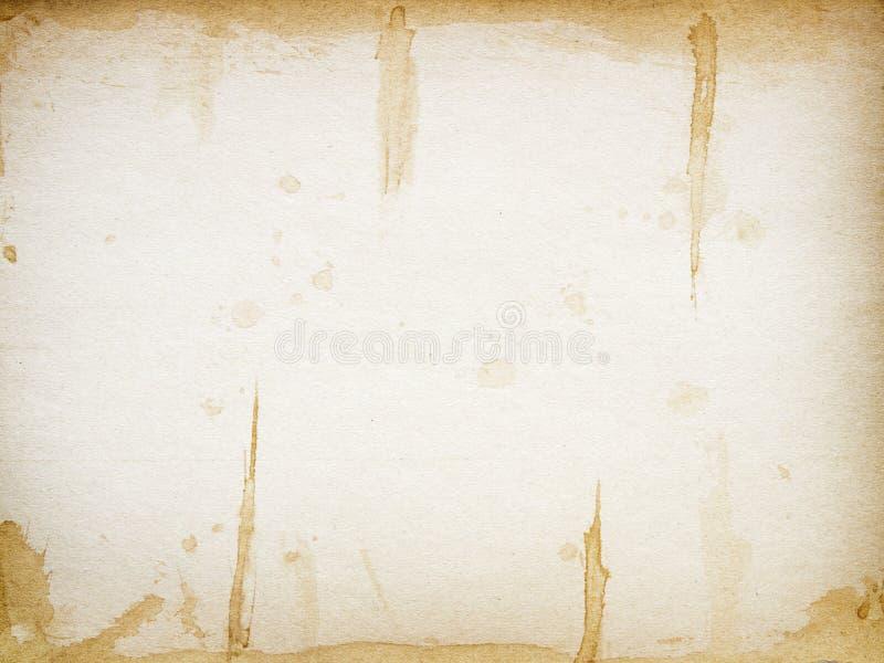 Texture de papier rustique photographie stock libre de droits