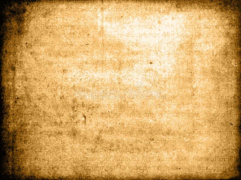 Texture de parchemin de vintage photographie stock libre de droits