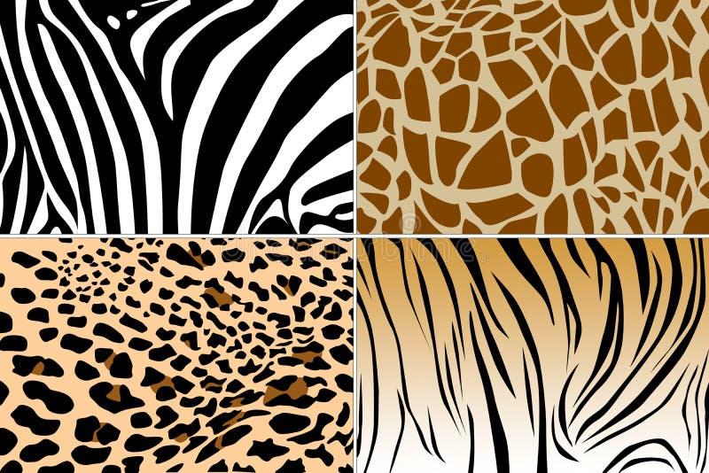 Texture de peau animale illustration libre de droits