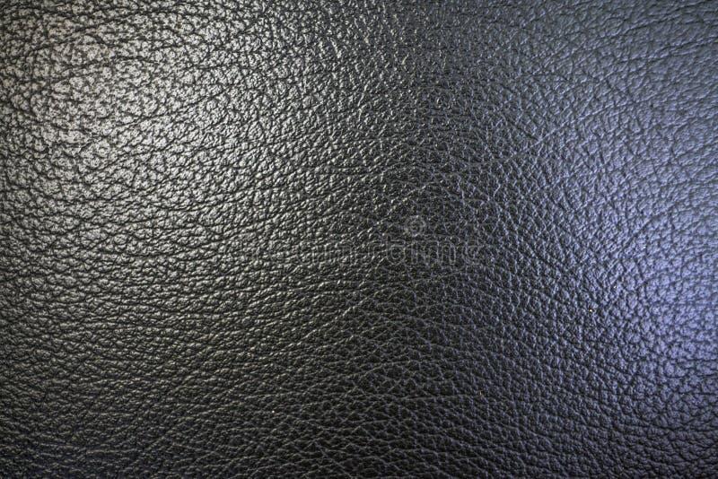 Texture de peau d'orange et de cuir artificiel de couleur noire pour un fond abstrait et pour le papier peint images libres de droits
