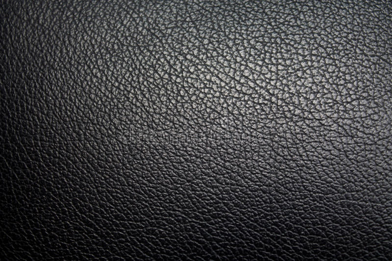 Texture de peau de siège de voiture photographie stock libre de droits