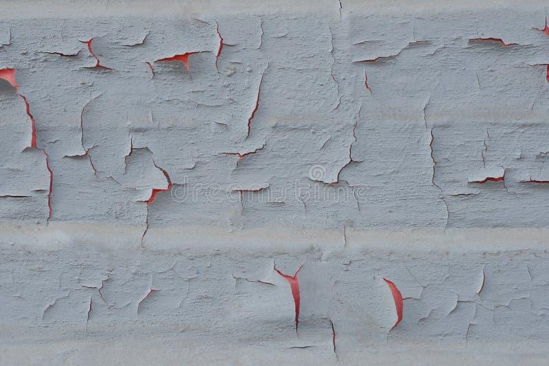 Texture de peinture criqu?e sur un mur photographie stock libre de droits