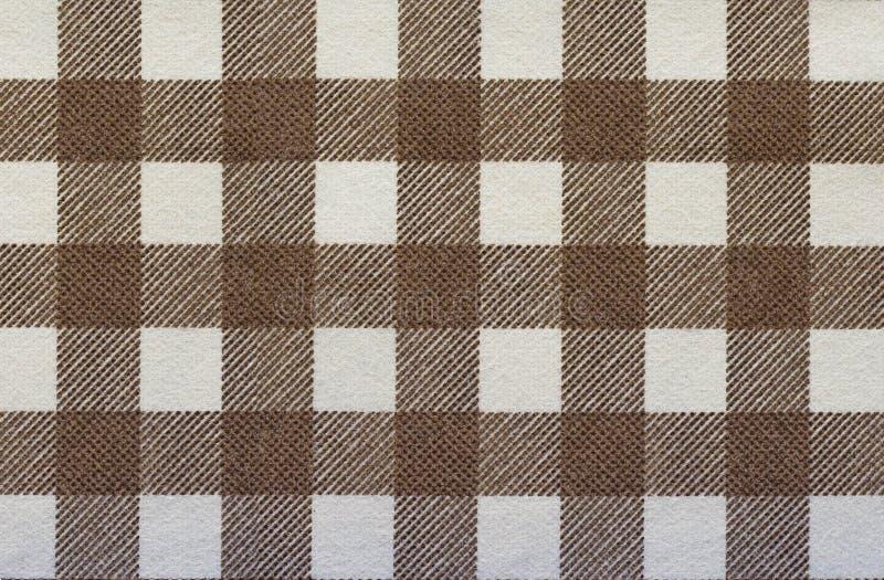 Texture de plaid de tissu photo stock