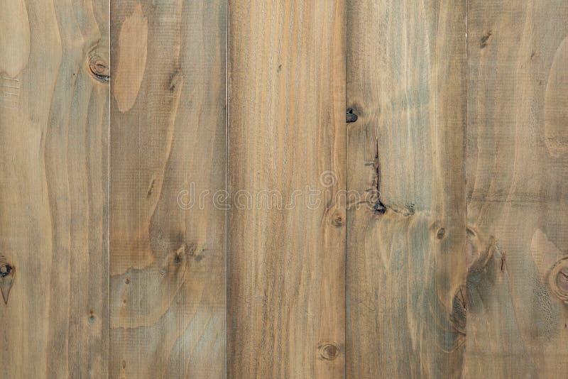 Texture de planche en bois de pin de Brown image libre de droits