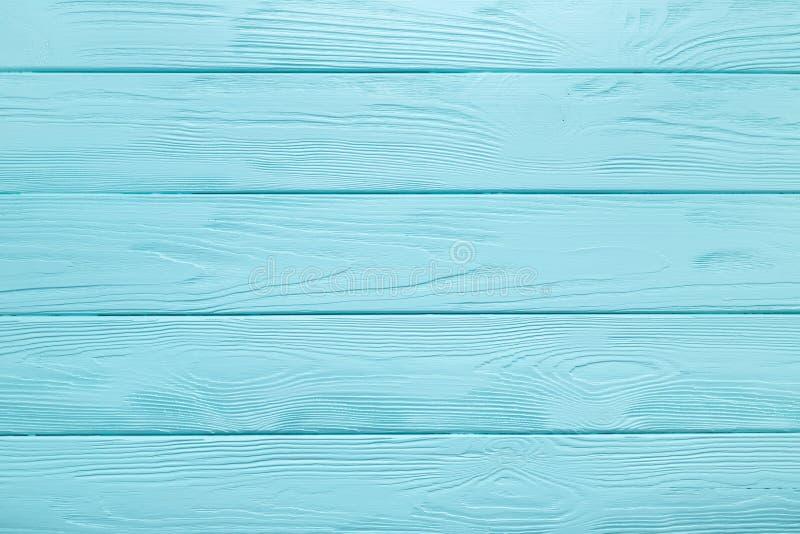Texture de planche ou fond en bois de table bleu-clair image libre de droits