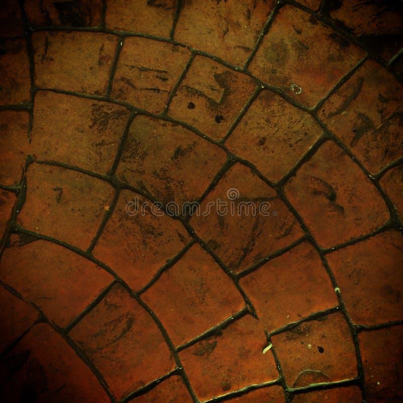 Texture de plancher de brique photos libres de droits