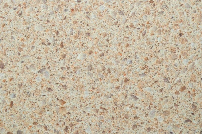 Texture de plastique avec l'imitation de la surface en pierre image stock