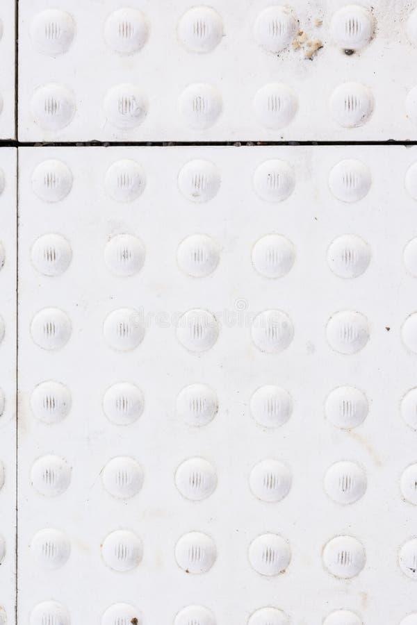Texture de plate-forme de station de train de sécurité de bosse photos libres de droits