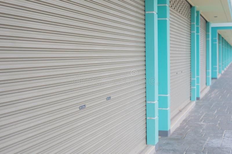 Texture de porte en métal photo stock