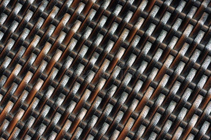 Texture de Ratan photo stock